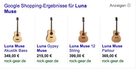 Luna Muse ist nicht nur eine Gitarre, sondern auch die Muse der Schriftstellerin Shirley Michaela Seul, die einen Hundeblog führt unter www.flipper-privat.de und Fünfseenlandkrimis schreibt
