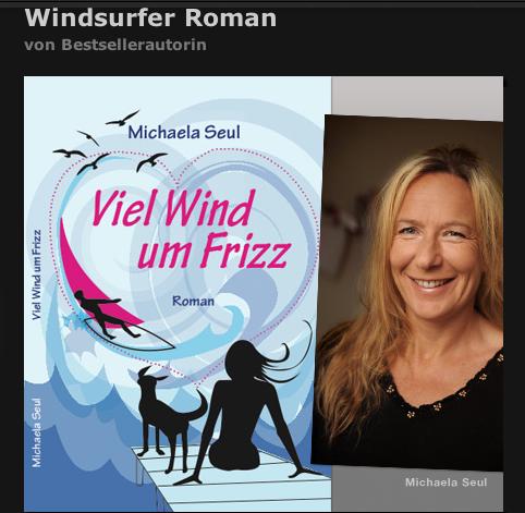 Die Bestseller Autorin Michaela Seul im Interview mit daily dose zu ihrem neuen Buch Viel Wind um Frizz, in dem ein Windsurfer eine Rolle spielt, es gibt das Buch als E-Book und Taschenbuch