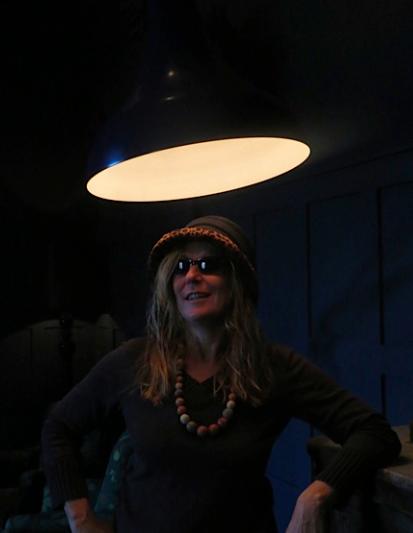 Die Autorin Michaela Seul im Licht