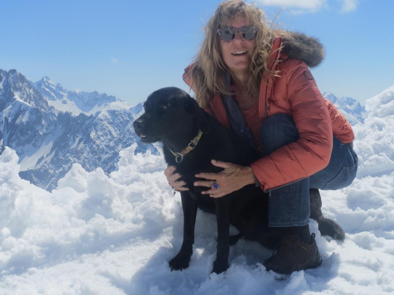 Hund auf Gipfel auf www.flipper-privat.de